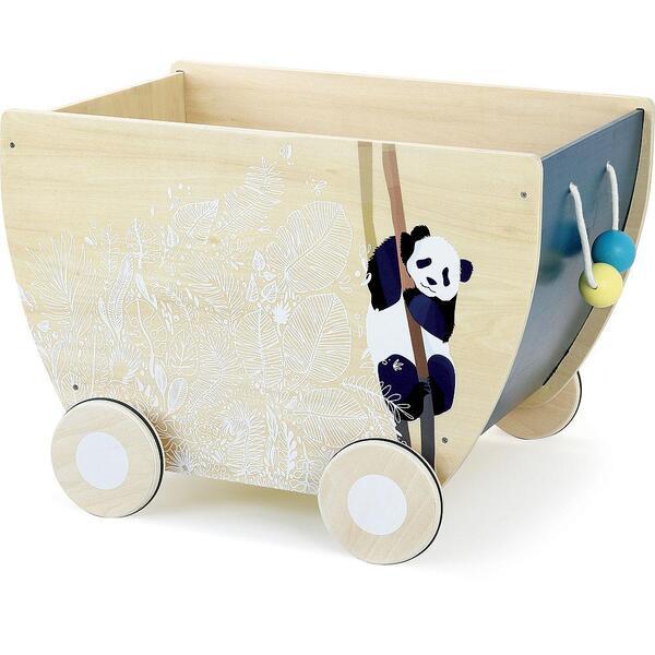 Vilac - Chariot à jouets Sous la Canopée