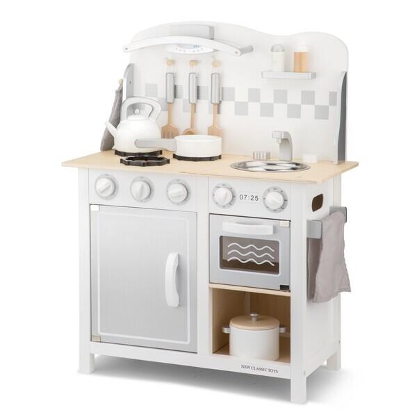 New Classic Toys - Kitchenette Bon Appétit - blanche/argent
