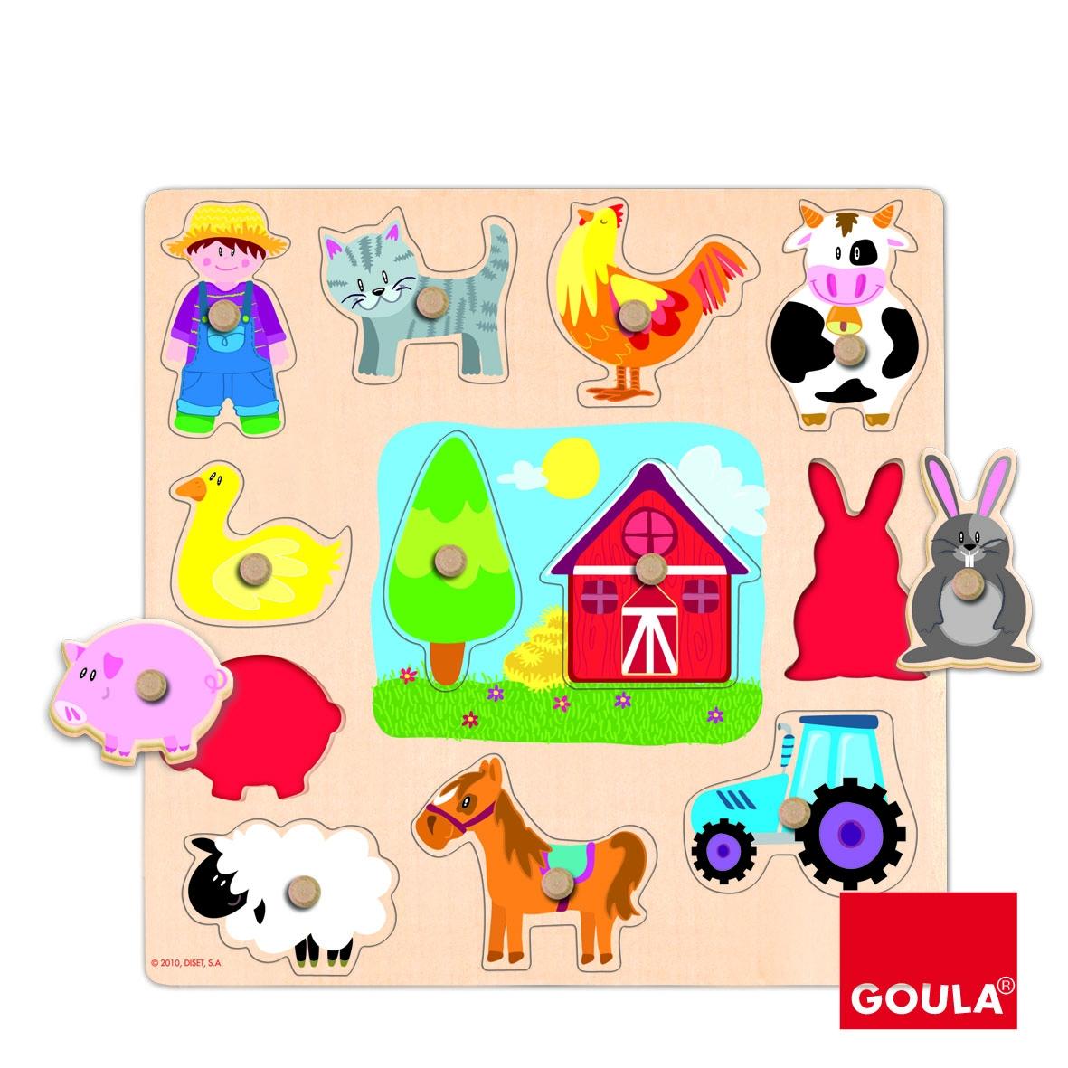Goula - Puzzle Silhouettes Ferme