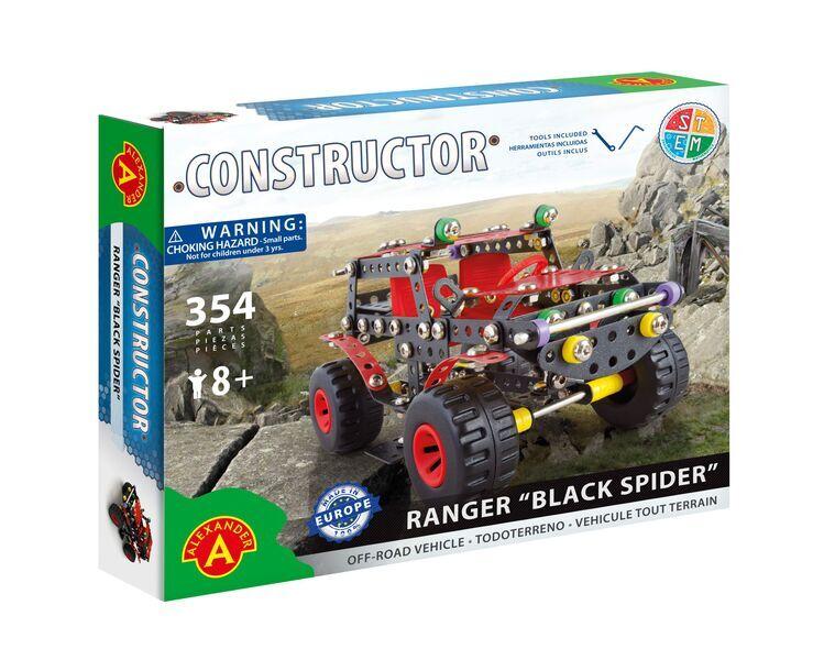 Alexander Toys - Constructor Ranger Black Spider