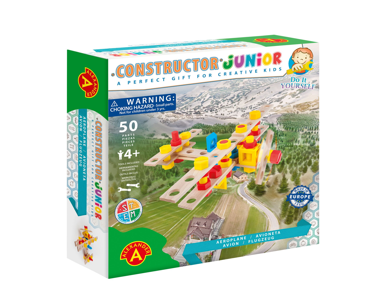 Alexander Toys - Constructor Junior - Avion