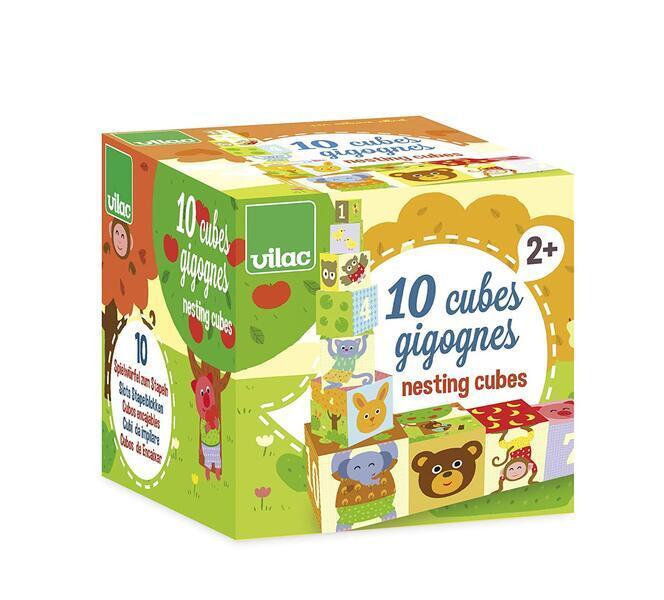 Vilac - Cubes Gigognes Animaux