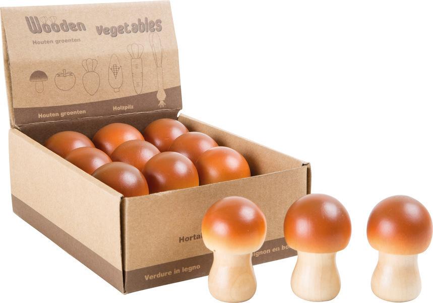 Small Foot - Présentoir de champignons en bois