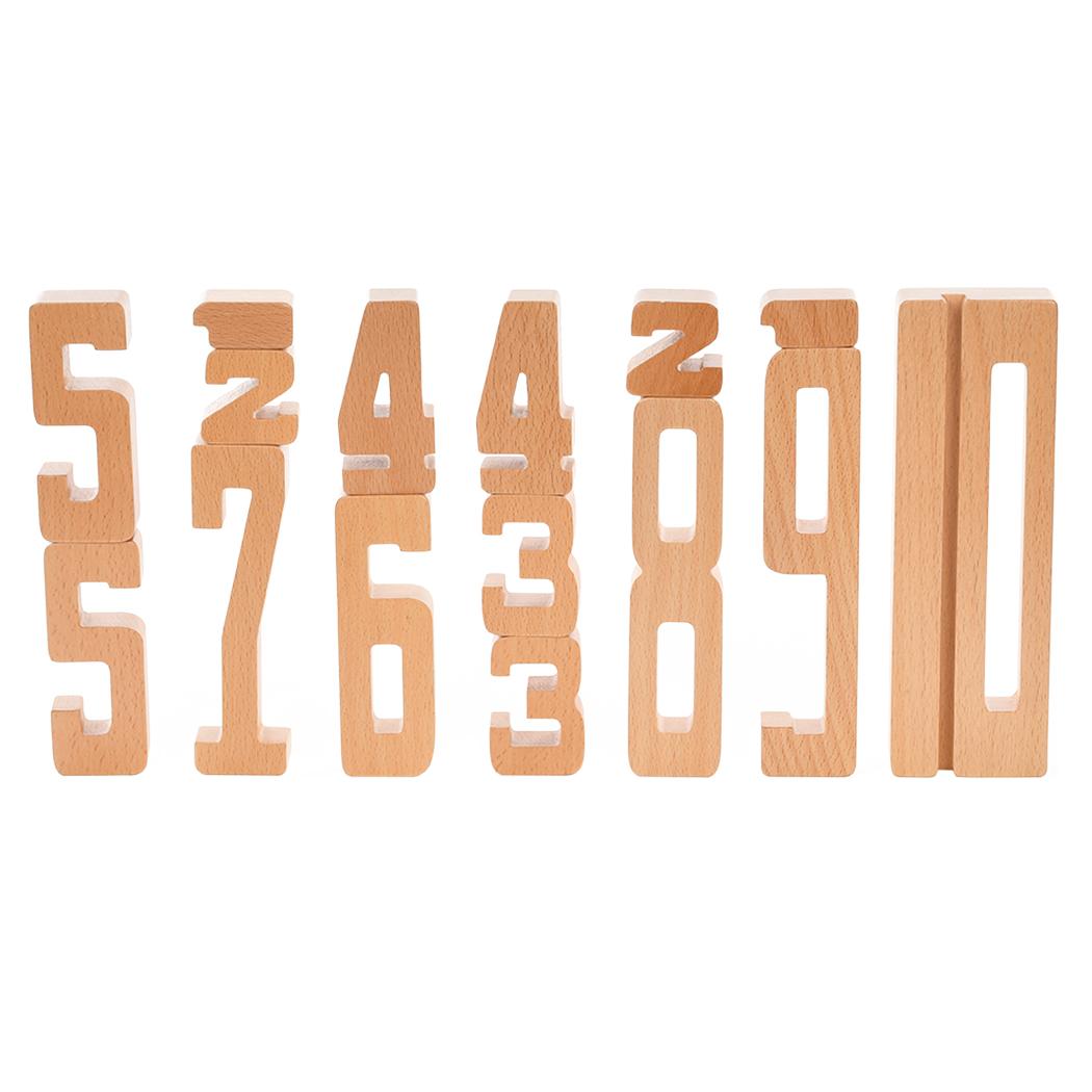 ByAstrup - Chiffres en bois