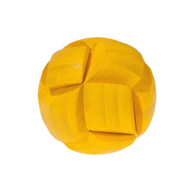Fridolin - Casse-tête bambou Ballon jaune
