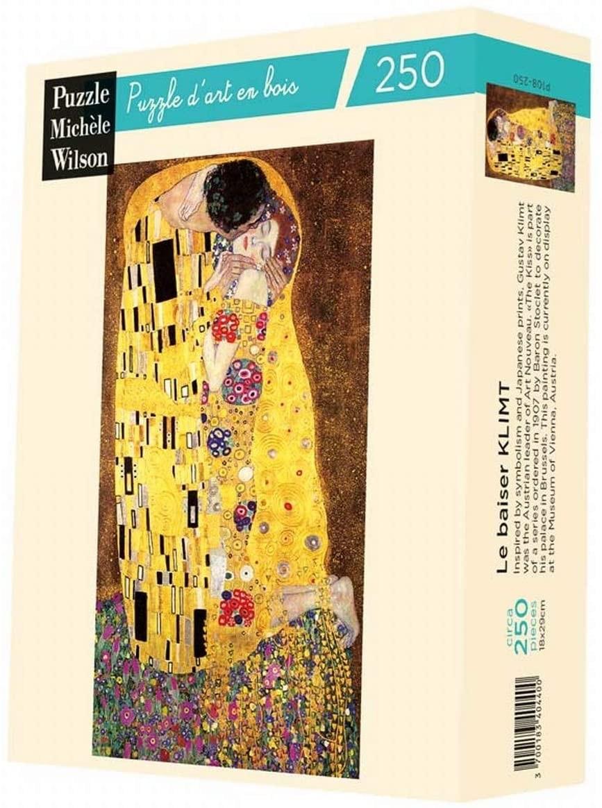 Michèle Wilson - Puzzle Michèle Wilson - Le Baiser Klimt 250 Pièces