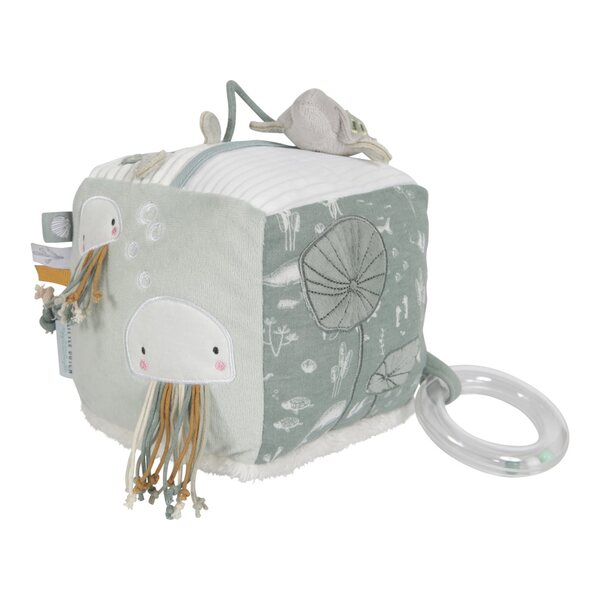 Little Dutch - Cube d'activités - Ocean mint