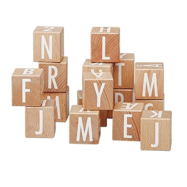 ByAstrup - Cubes en bois ABC