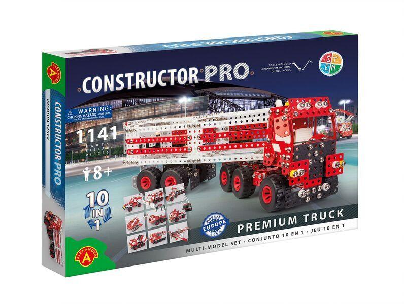 Alexander Toys - Constructor Pro - Camion Premium Truck 10 en 1