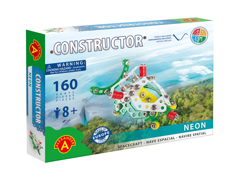 Alexander Toys - Constructor Neon - Navette spatiale