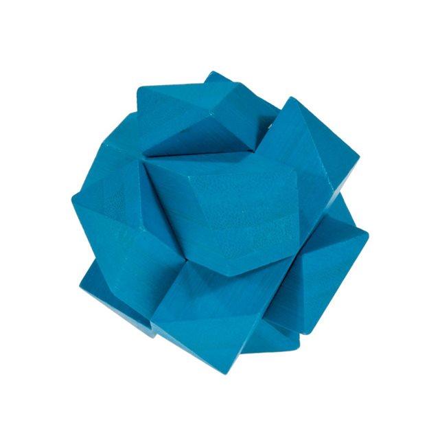 Fridolin - Casse-tête bambou Le nœud bleu