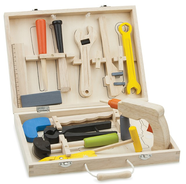 New Classic Toys - Boite à outils - 12 éléments