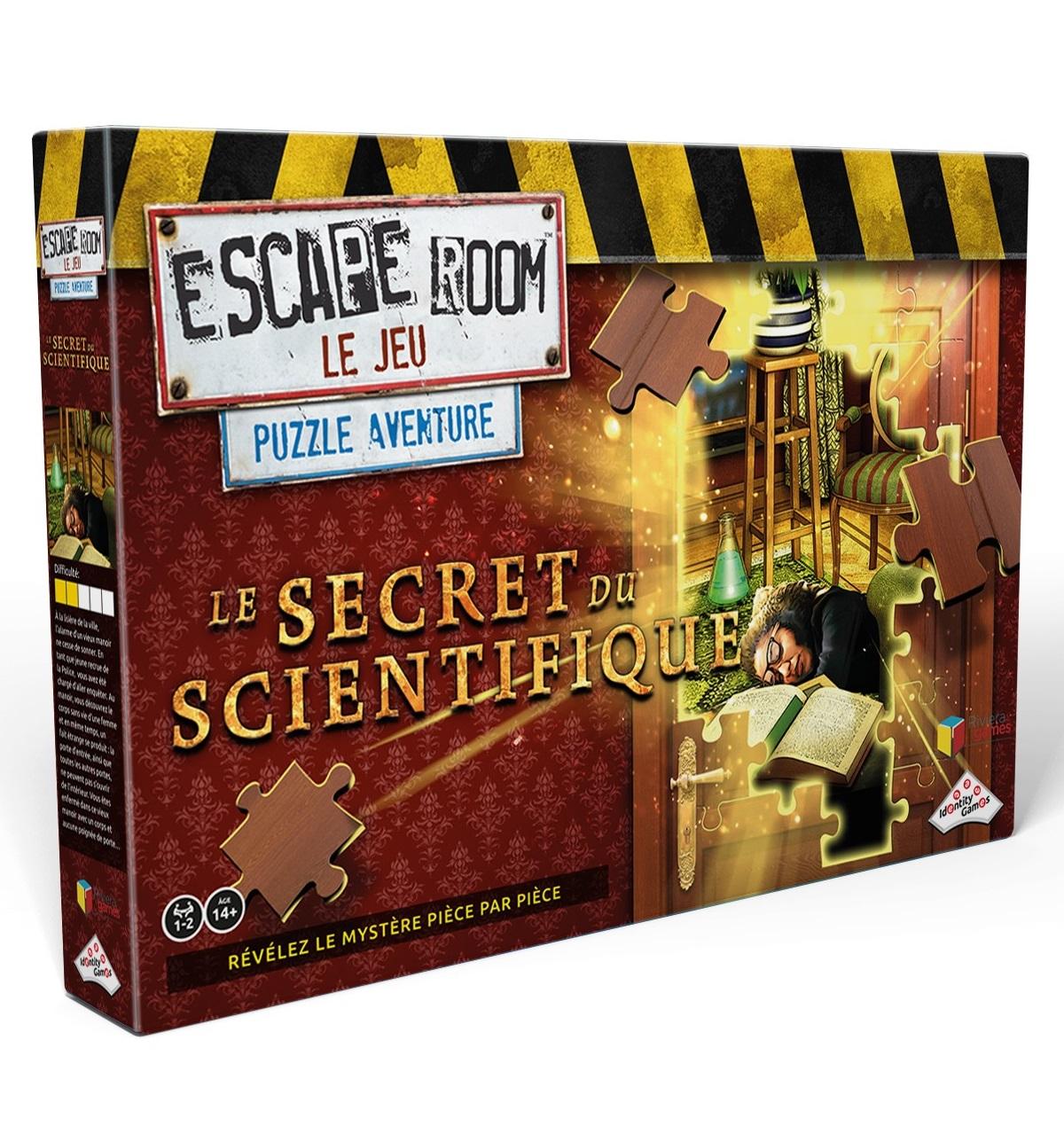 Riviera games - Puzzle Escape - Le Secret du Scientifique