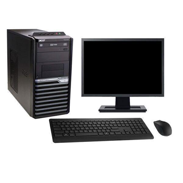 "Acer - Acer M2610G 19"" Intel i5-2400 RAM 8Go SSD 960Go W10 - comme neuf"