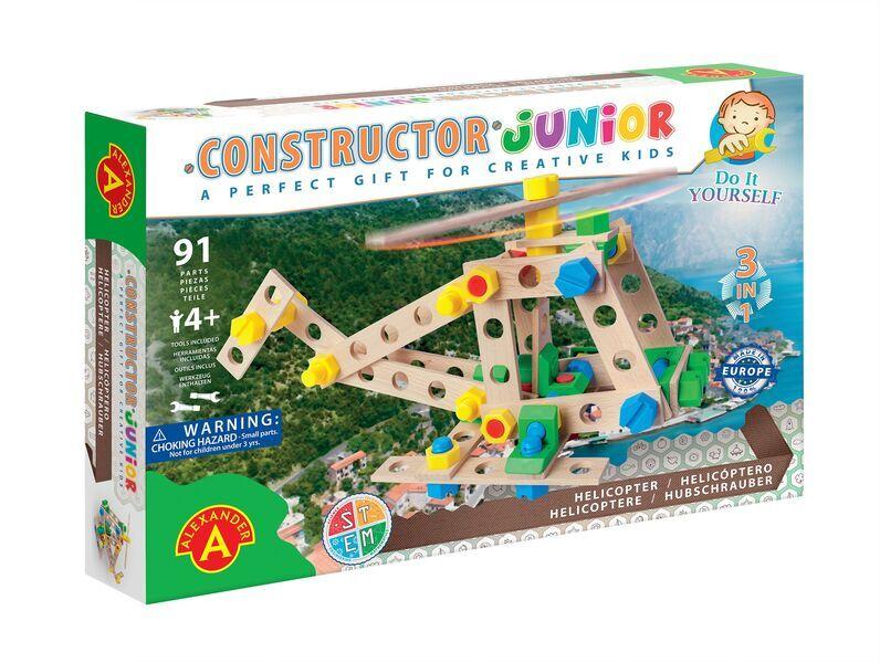 Alexander Toys - Constructor Junior 3x1 - Hélicoptère