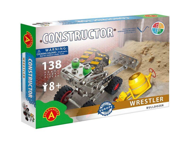 Alexander Toys - Constructor Wrestler - Bulldozer