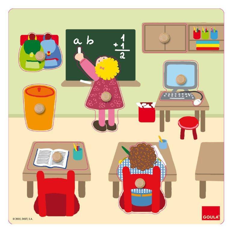 Goula - Puzzle école