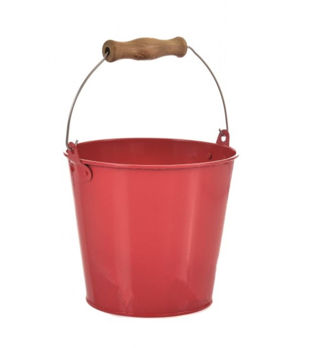 Egmont Toys - Seau rouge en métal