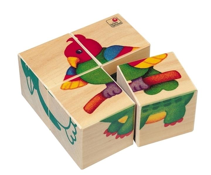 Selecta - Cubes animaux