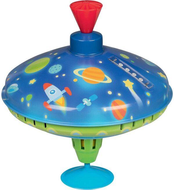Goki - Toupie bourdonnante LED Univers