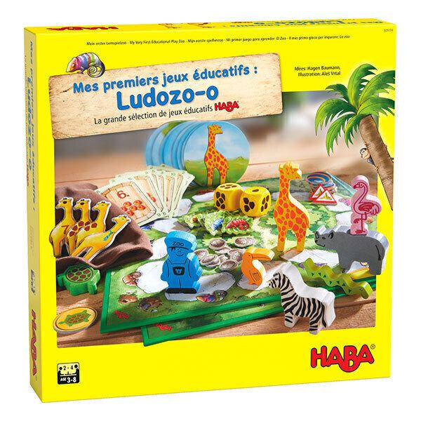 Haba - Ensemble de 10 jeux éducatifs Ludozo-o sur les animaux - Dès 3