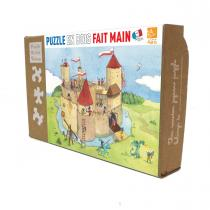 Michèle Wilson - Puzzle MW Panique au château fort 24 Pièces