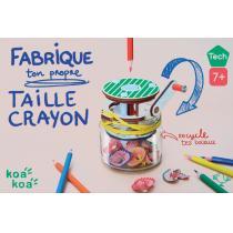KOA KOA - Fabrique ton taille crayon