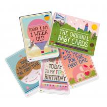Milestone - BABY CARDS - Version Anglaise