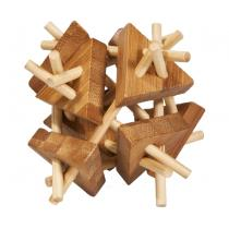 Fridolin - Casse-tête bambou Bâtons et triangle