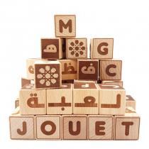 Mazafran - Cubes alphabet arabe-français