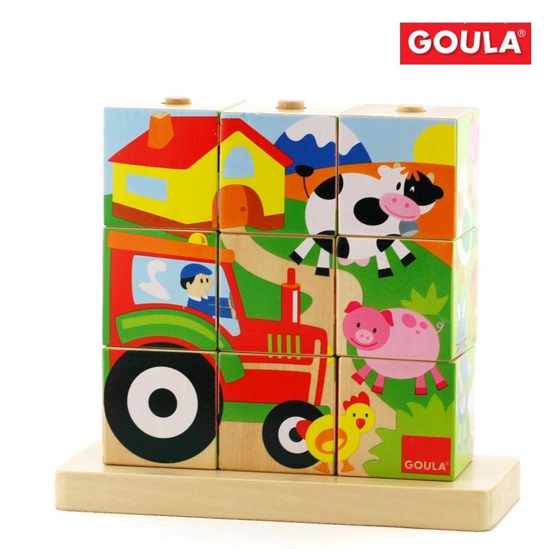 Goula - Puzzles Cubes Ferme