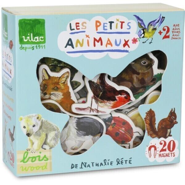 Vilac - Magnets Animaux par Nathalie Lété