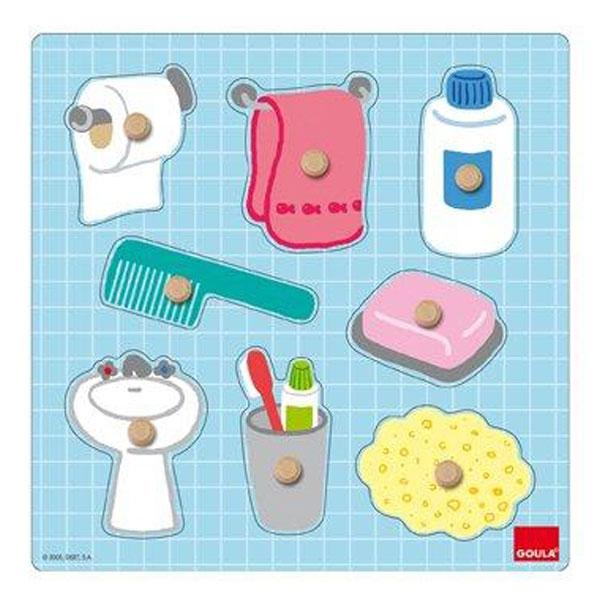 Goula - Puzzle bain de l'enfant