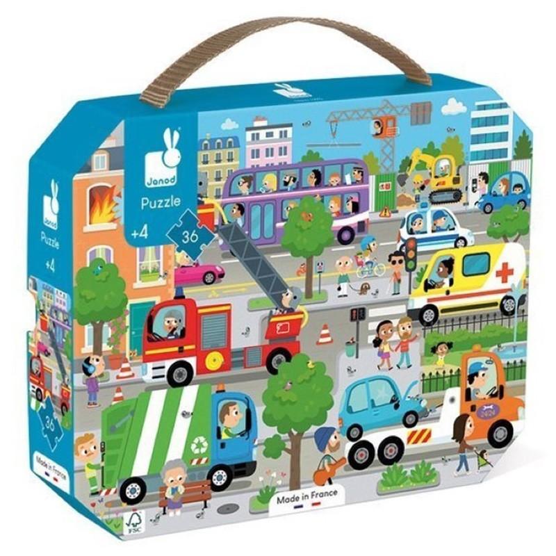 Janod - Puzzle City 36 pcs