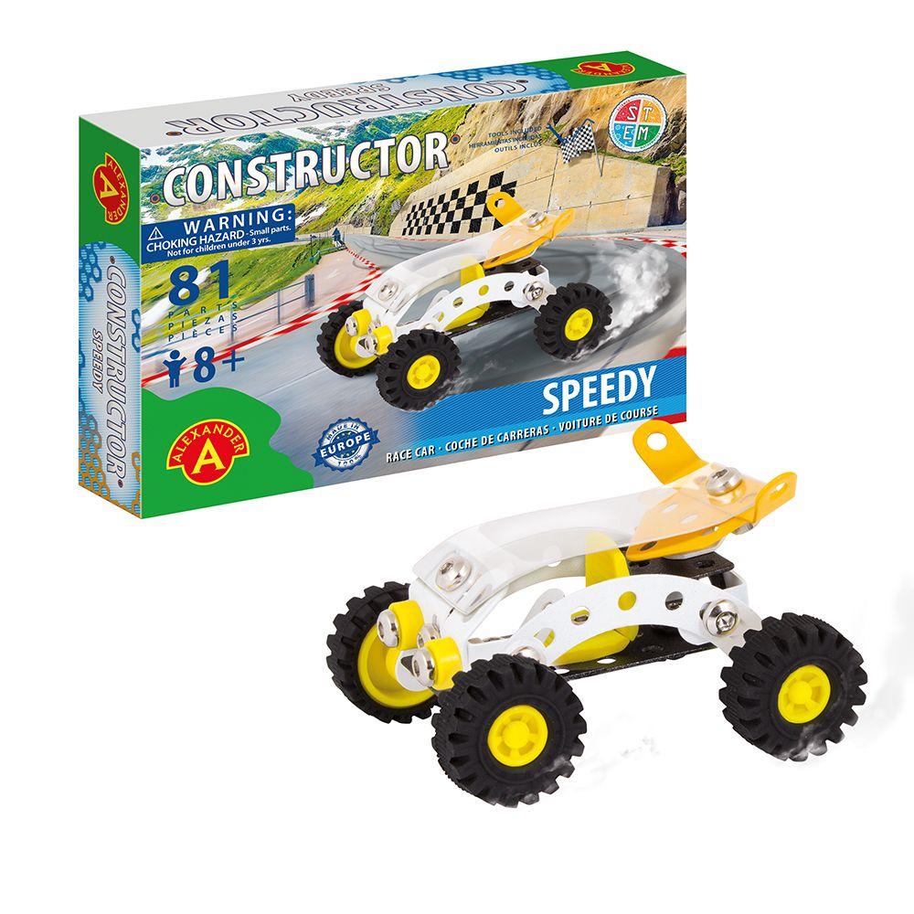 Alexander Toys - Constructor Speedy - Voiture de Course
