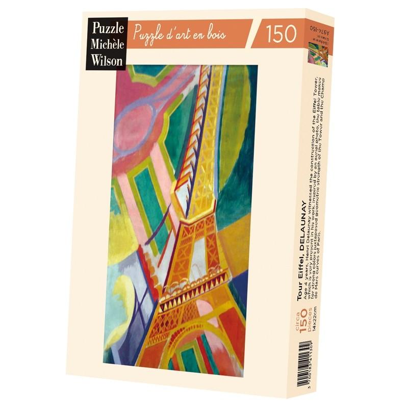Michèle Wilson - Puzzle Michèle Wilson - Tour Eiffel 150 Pièces