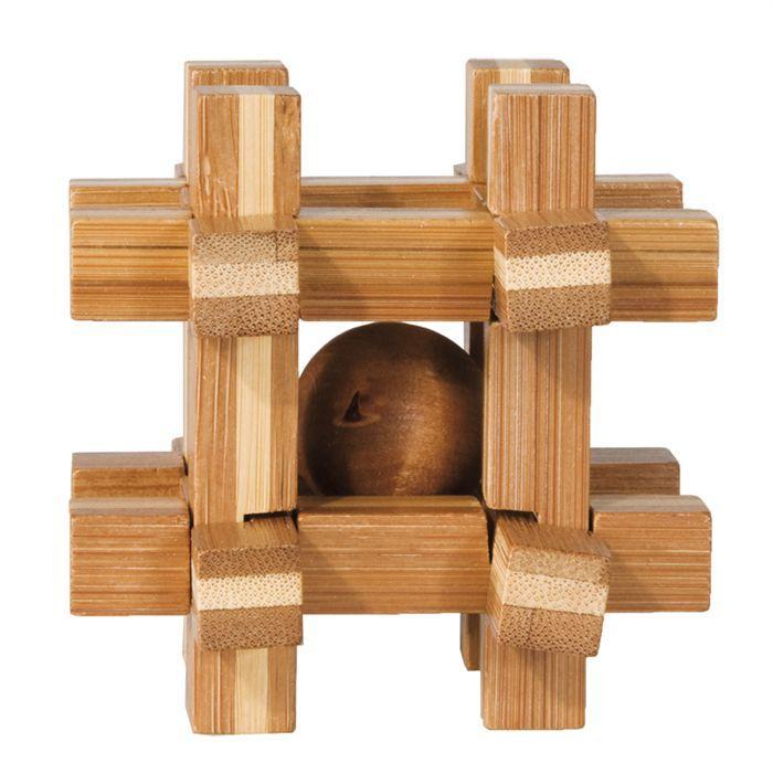 Fridolin - Casse-tête bambou Boîte à bille