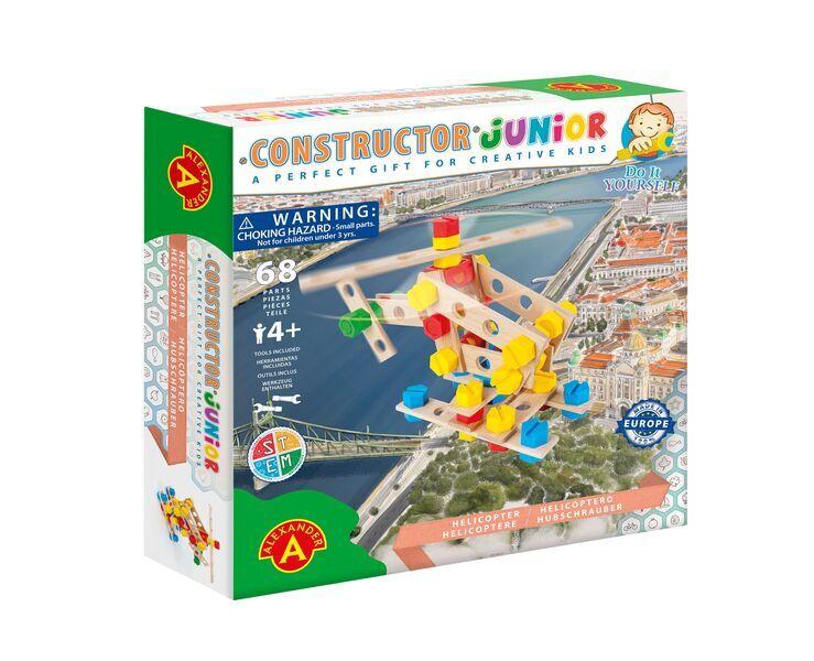 Alexander Toys - Constructor Junior - Hélicoptère