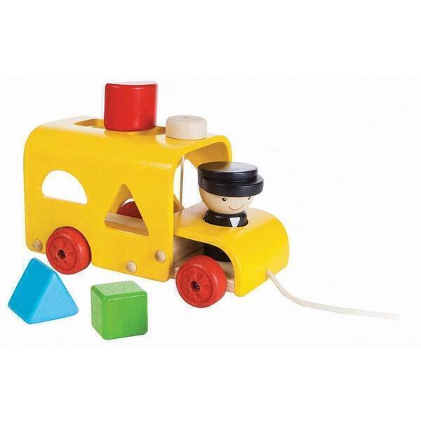 Plan Toys - Autobus à formes