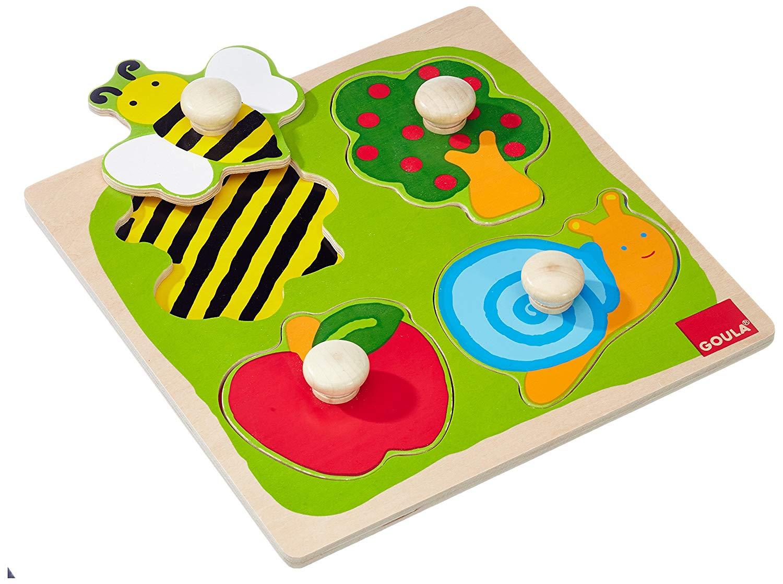 Goula - Puzzle abeille, escargot ...