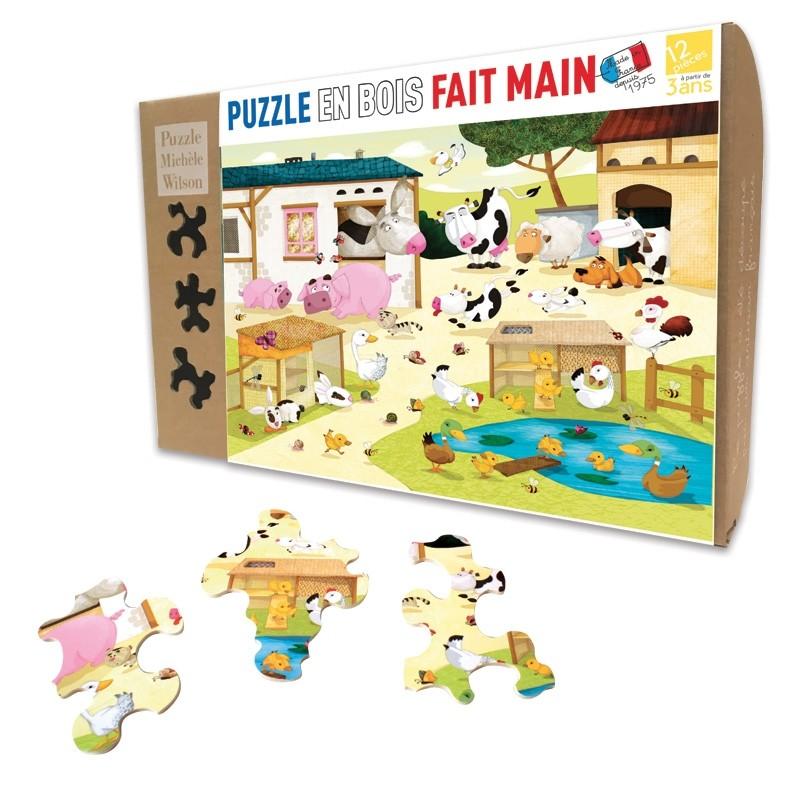 Michèle Wilson - Puzzle MW La Ferme 12 Pièces