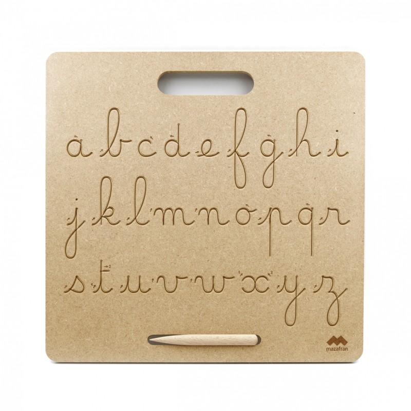 Mazafran - Tablette d'écriture Montessori français