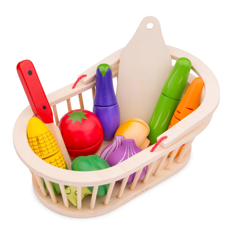 New Classic Toys - Panier de légumes