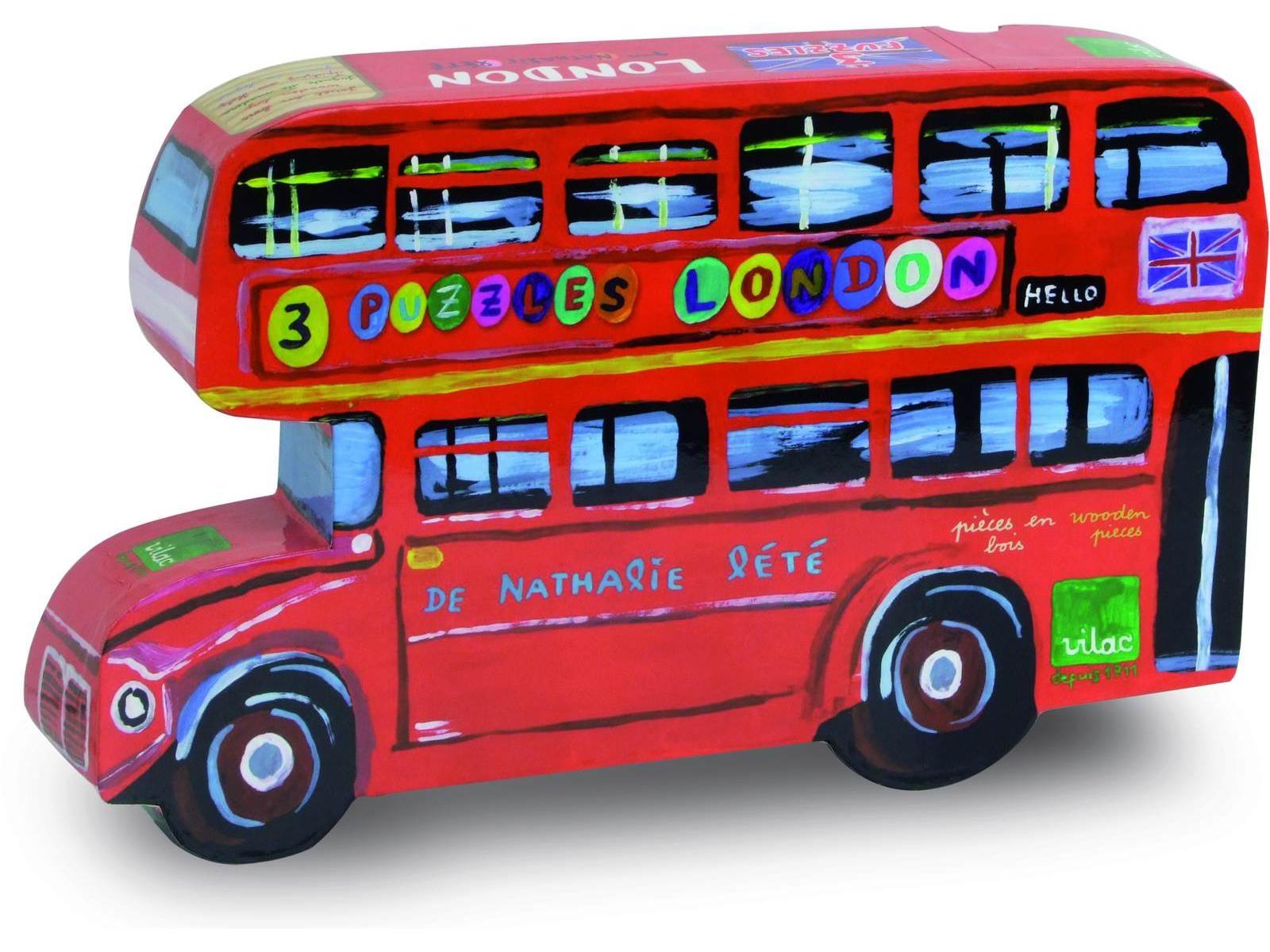Vilac - 3 puzzles London
