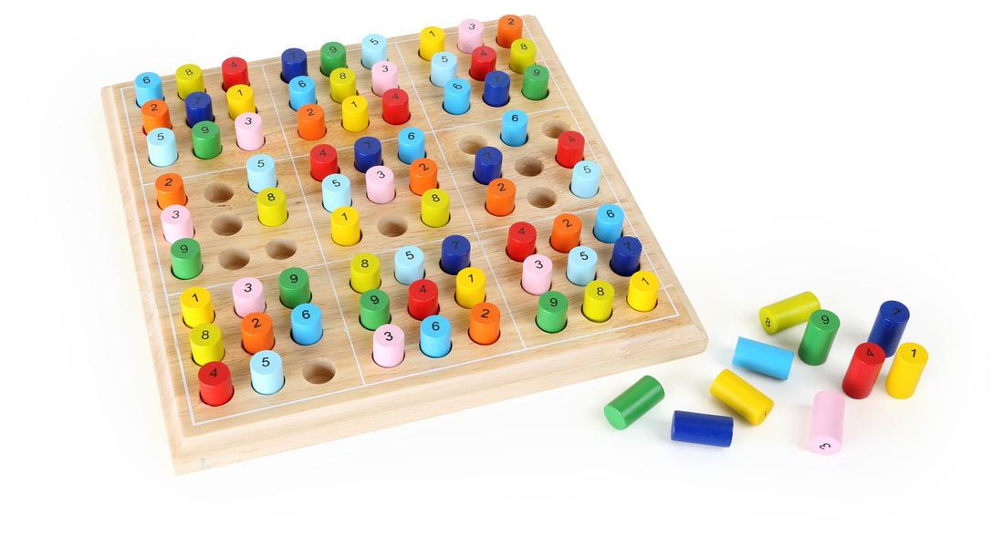Small Foot - Sudoku coloré