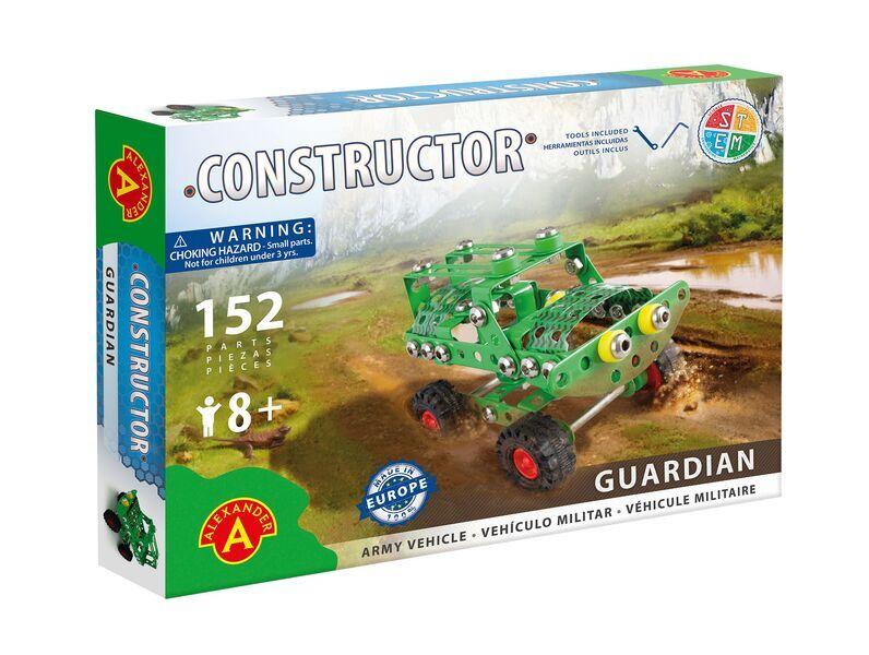 Alexander Toys - Constructor Guardian - Véhicule militaire