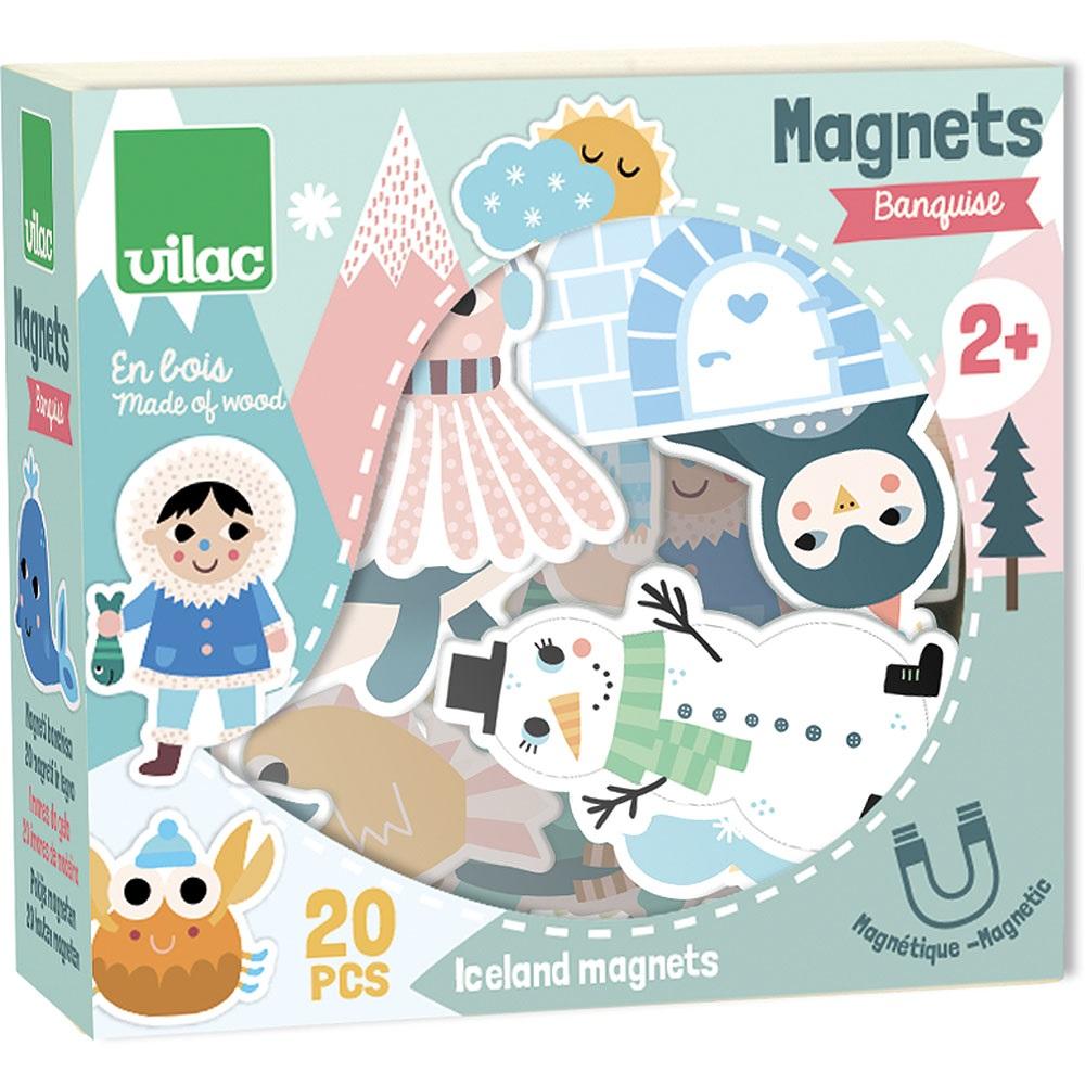 Vilac - Magnets Iceland Michelle Carlslund