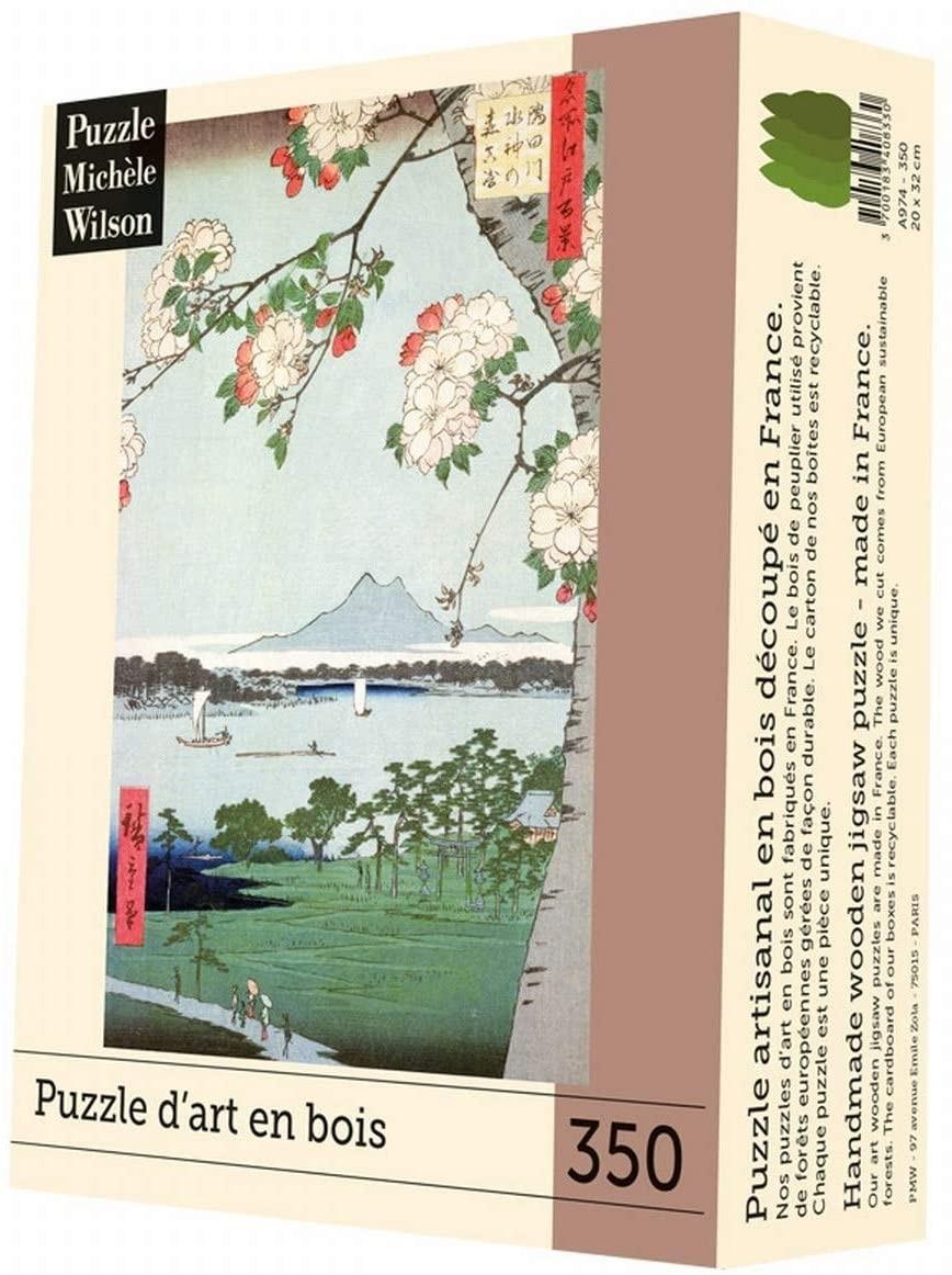 Michèle Wilson - Puzzle Michèle Wilson - Pommiers En Fleurs 350 Pièces