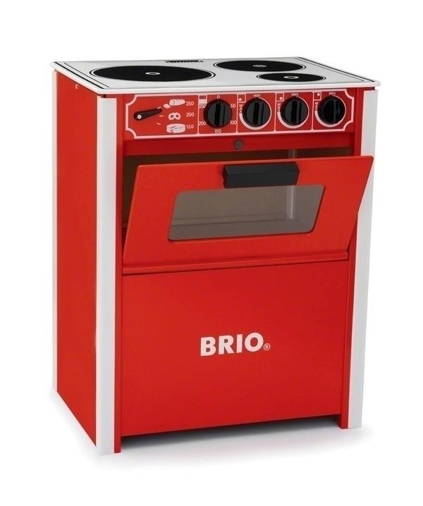 Brio - Cuisinière rouge
