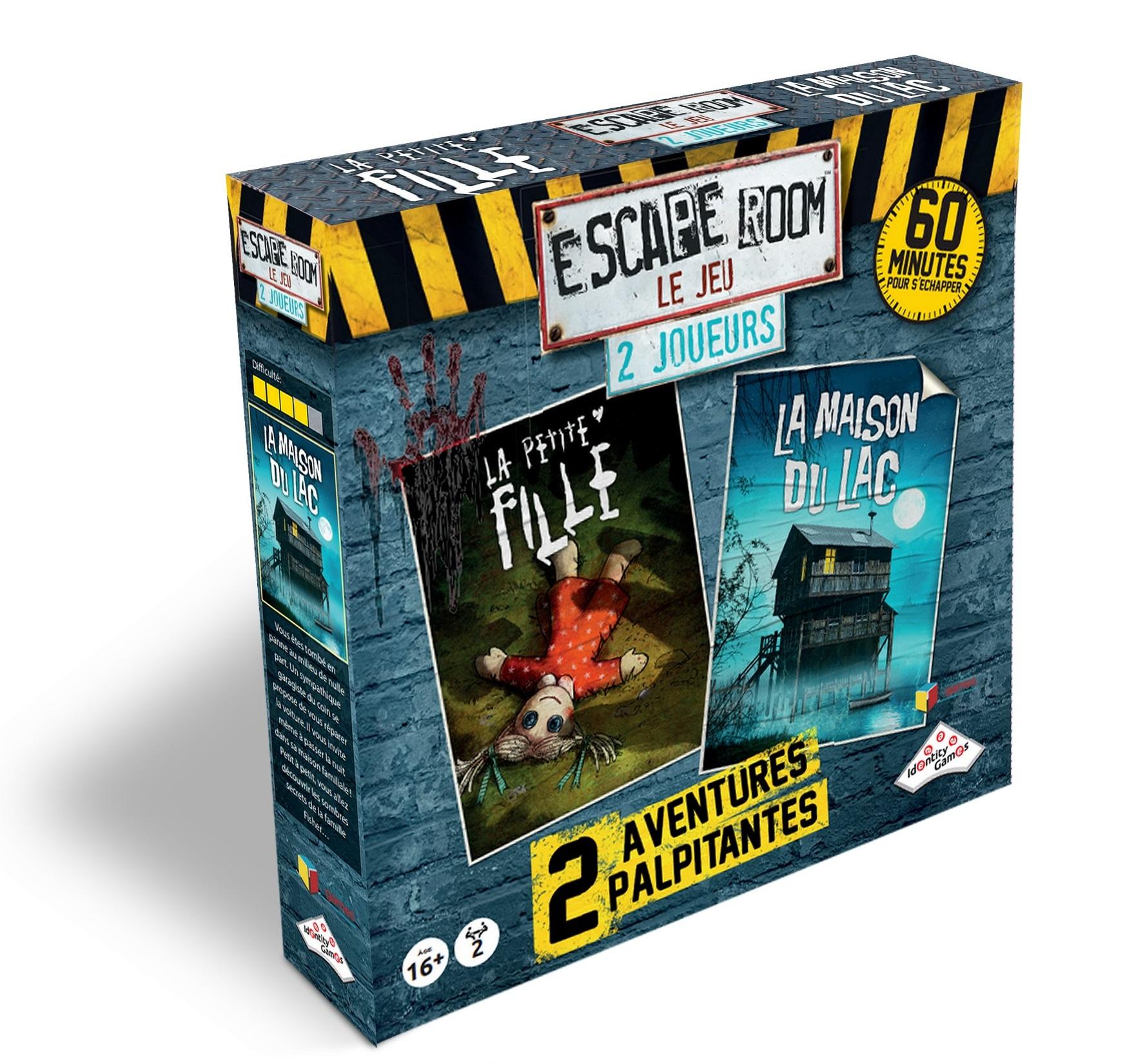 Riviera games - Escape Games - Coffret 2 joueurs Horreur